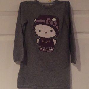 Hello Kitty sweater dress